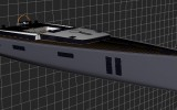 Shamlor Nacira 67 - Vue 3D - © SPRAY Yachting Management