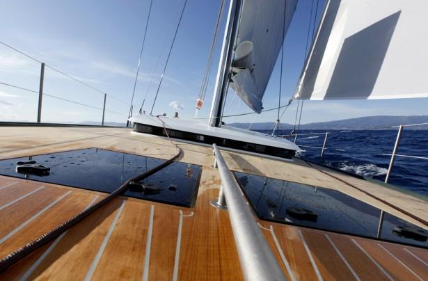 Shamlor Nacira 67 - Pont en navigation - © Christophe Launay