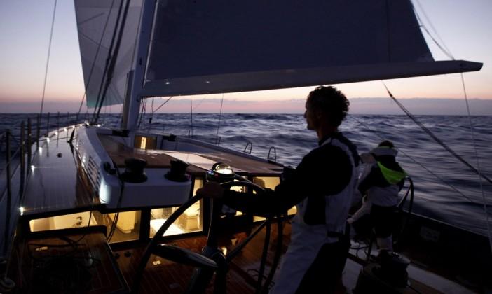 Shamlor Nacira 67 - Navigation nuit - © Christophe Launay