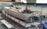 Shamlor Nacira 67 - chantier - © SPRAY Yachting Management